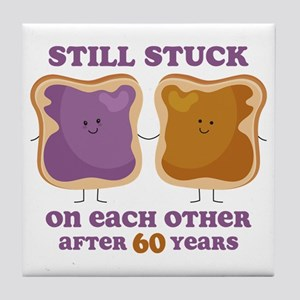 PBJ 60th Anniversary Tile Coaster